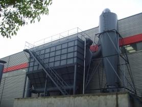 生物质锅炉除尘
